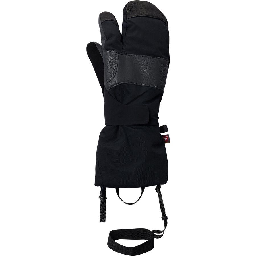 Mountain Hardwear マウンテンハードウェア 手袋 メンズ グローブ アウトドア ブランド 登山 カジュアル (取寄)マウンテンハードウェア ハイ エクスポージャー ゴアテックス スプリット ミトン - メンズ Mountain Hardwear High Exposure Gore-Tex Split Mitten - Men's Black