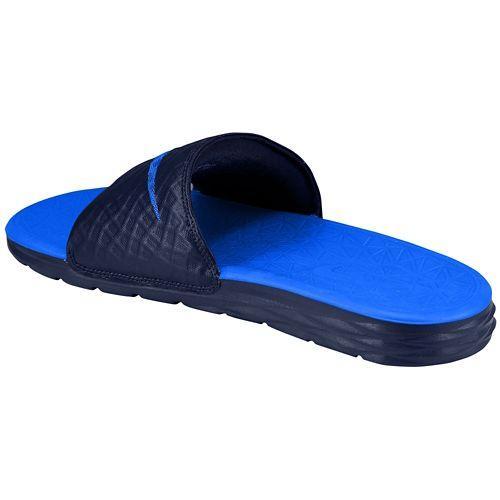 hot sale online 7eeae 874e3 NIKE ナイキサンダルメンズベナッシソーラーソフトスライド 2 Nike Men s Benassi Solarsoft Slide 2  Midnight Navy Lyon Blue-adaptive product