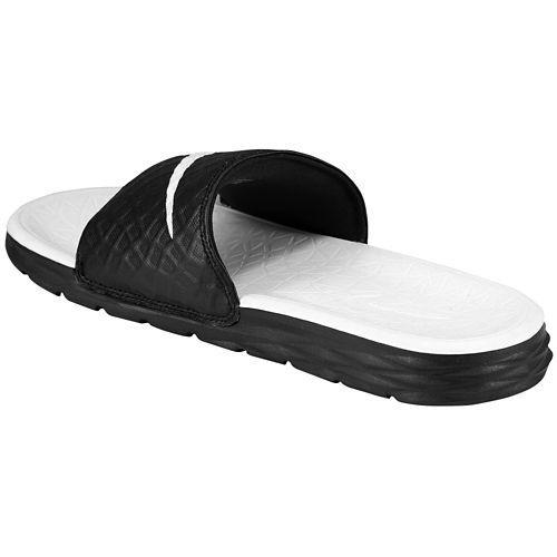 af77d126a1632 NIKE Nike Womens Sandals Benassi solar soft slide 2 Nike Women s Benassi  Solarsoft Slide 2 Black White