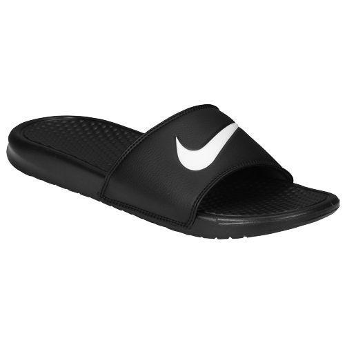 4b37a9277c87 JETRAG Rakuten Ichiba Shop  NIKE Nike Sandals men s Benassi Swoosh slide  Nike Men s Benassi Swoosh Slide Black White 02P01Oct16