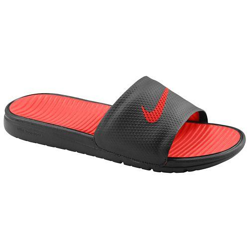 NIKE Nike Sandals men s Benassi solar soft slide Red Red Nike Men s Benassi  Solarsoft Slide Black Sport Red 02P05Nov16 52e2c446e