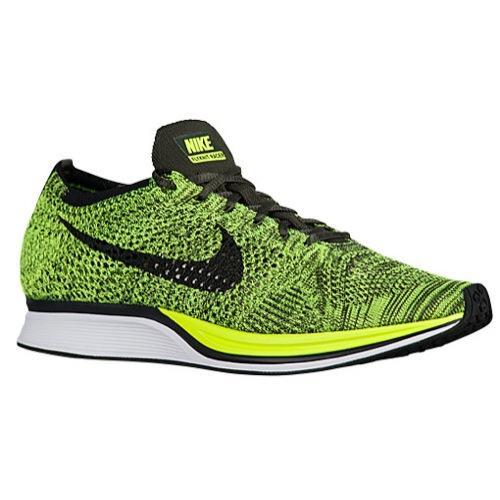8eb3a286670f Nike Nike men fly knit racer running shoes sneakers Nike Men s Flyknit  Racer Volt Black Sequoia