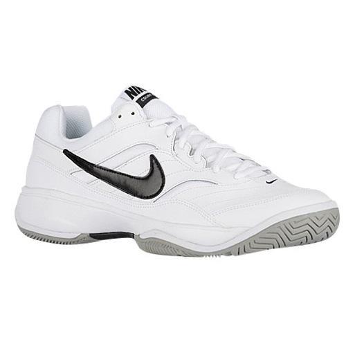 (取寄)NIKE ナイキ メンズ コート ライト テニスシューズ Nike Men's Court Lite White Medium Grey Black 【コンビニ受取対応商品】