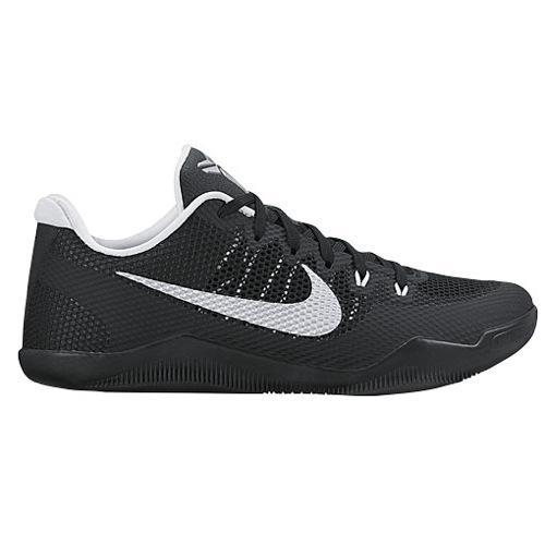 (취기) 나이키멘즈코비 11 로 Nike Men's Kobe 11 Low Black Metallic Silver White