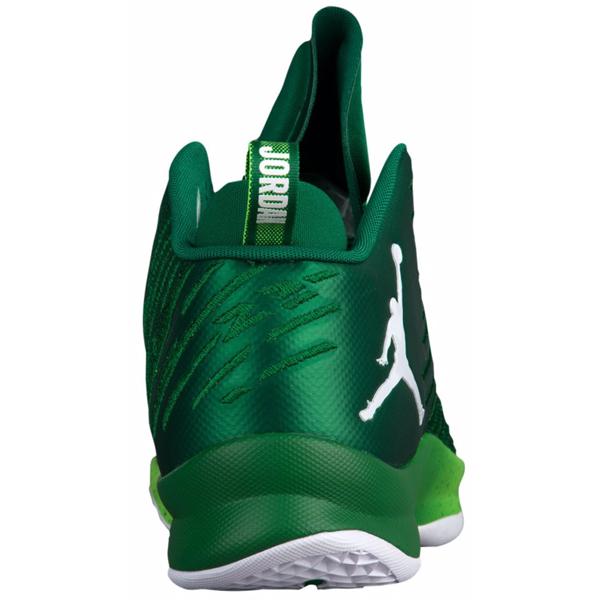 (취기) 조던 맨즈 슈퍼 플라이 5 Jordan Men's Super.Fly 5 Pine Green White Electro Green