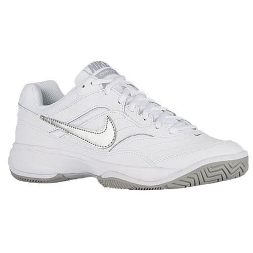 (取寄)Nike ナイキ レディース スニーカー テニスシューズ コート ライト Nike Women's Court Lite White Medium Grey Matte Silver 【コンビニ受取対応商品】