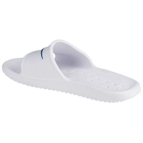 (索取)naikimenzukawashawasuraido Nike Men's Kawa Shower Slide White Blue Moon