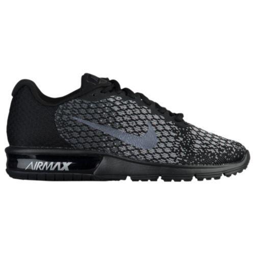 (取寄)Nike ナイキ レディース スニーカー エアマックス シークエント 2 Nike Women's Air Max Sequent 2 Black Metallic Hematite Dark Grey Wolf Grey
