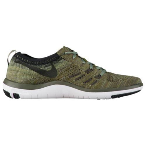 (取寄)Nike ナイキ レディース スニーカー トレーニングシューズ フリー TR フォーカス フライニット Nike Women's Free TR Focus Flyknit Cargo Khaki Black Palm Green
