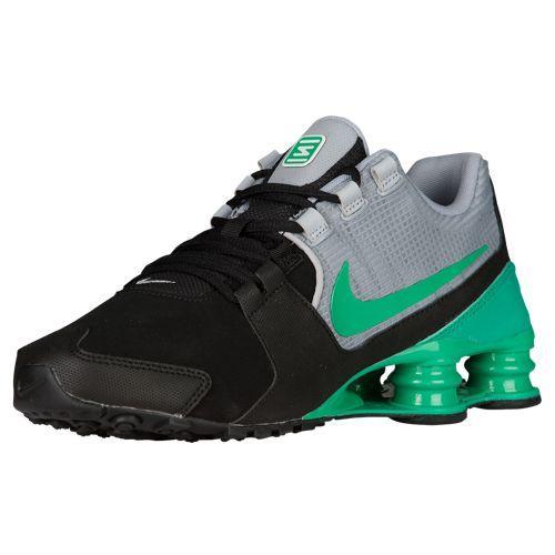 (취기) 나이키멘즈손스아베뉴 Nike Men's Shox Avenue Black Stadium Green Wolf Grey