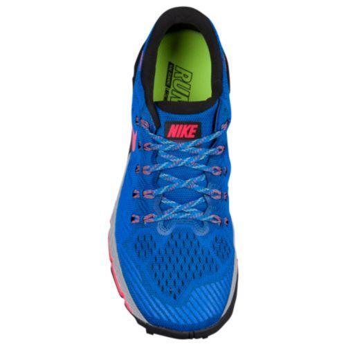 (취기) 나이키멘즈즘테라카이가 3 Nike Men's Zoom Terra Kiger 3 Soar Squadron Blue Black Hot Punch