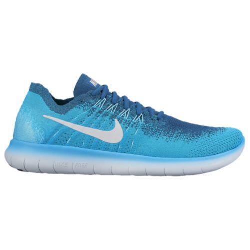 (取寄)Nike ナイキ メンズ ランニングシューズ フリー RN フライニット 2017 スニーカー Nike Men's Free RN Flyknit 2017 Blue Lagoon Pure Platinum Legend Blue