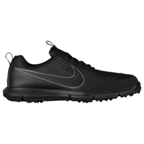 (取寄)Nike ナイキ メンズ エクスプローラー 2 ゴルフシューズ Nike Men's Explorer 2 Golf Shoes Black Black Metallic Grey