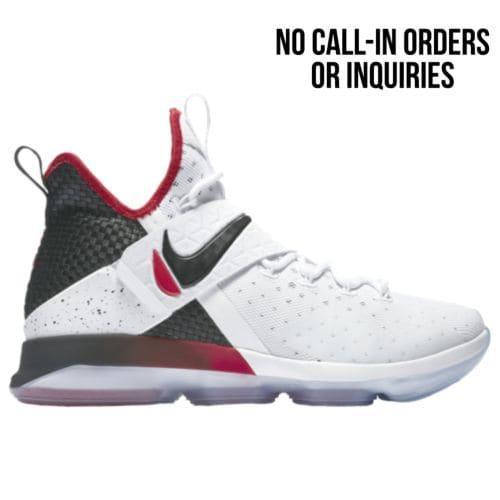 (取寄)Nike ナイキ メンズ スニーカー バッシュ レブロン 14 バスケットシューズ Nike Men's LeBron 14 White Black University Red