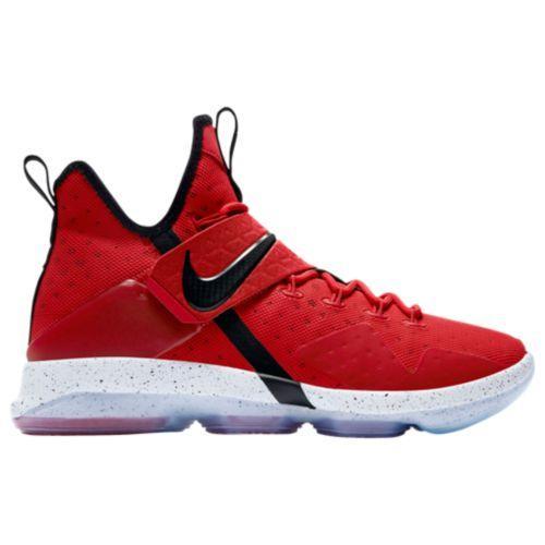 (取寄)Nike ナイキ メンズ スニーカー バッシュ レブロン 14 バスケットシューズ Nike Men's LeBron 14 University Red Black White
