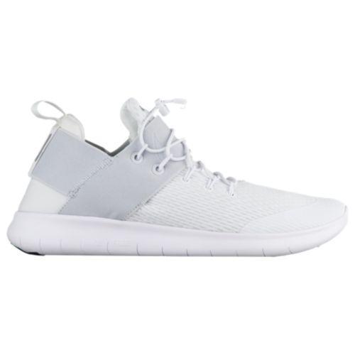 (取寄)Nike ナイキ メンズ スニーカー ランニングシューズ フリー RN コミューター 2017 Nike Men's Free RN Commuter 2017 White Pure Platinum Dark Grey