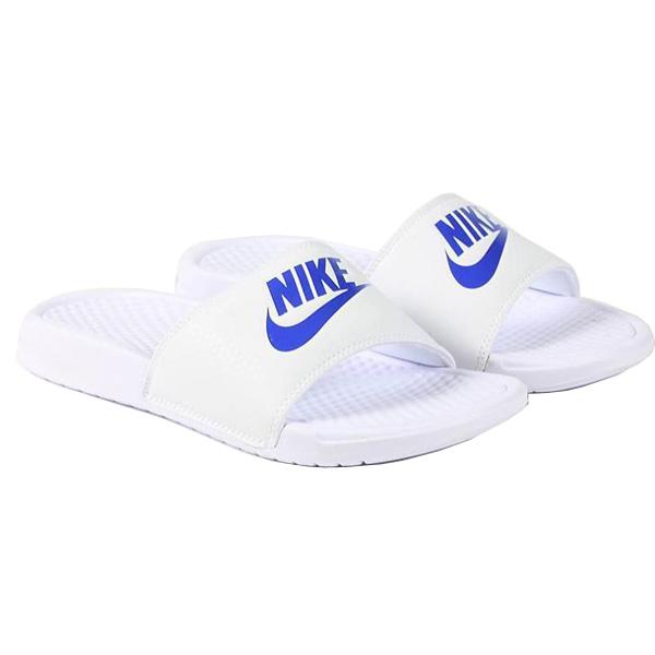 eeedd8fa8 NIKE ナイキメンズサンダルベナッシ light blue white blue JDI slide Nike Men s Benassi JDI Slide  White Varsity Royal 343