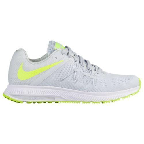 (取寄)Nike ナイキ レディース スニーカー エア ズーム ウィンフロー 3 ランニングシューズ Nike Women's Air Zoom Winflo 3 Pure Platinum Volt White White