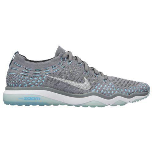 (取寄)Nike ナイキ レディース エア ズーム フェアレス フライニット Nike Women's Air Zoom Fearless Flyknit Cool Grey White Polarized Blue