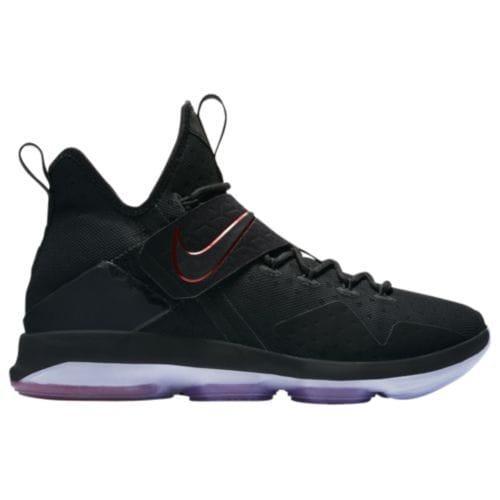 (取寄)Nike ナイキ メンズ スニーカー バッシュ レブロン 14 バスケットシューズ Nike Men's LeBron 14 Black Black University Red