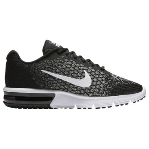 (取寄)Nike ナイキ レディース スニーカー エアマックス シークエント 2 Nike Women's Air Max Sequent 2 Black White Dark Grey Wolf Grey