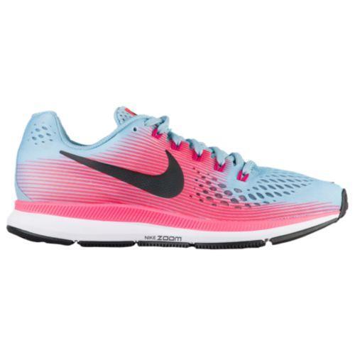 (取寄)Nike ナイキ レディース エア ズーム ペガサス 34 Nike Women's Air Zoom Pegasus 34 Mica Blue White Racer Pink Sport Fuchsia