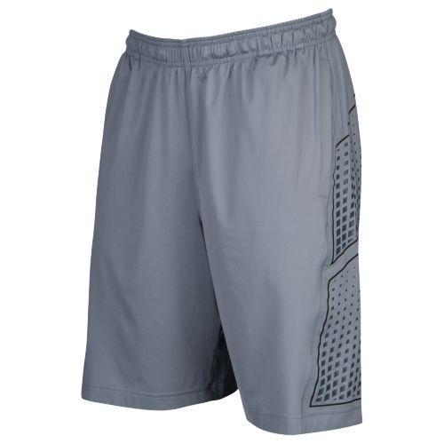 (取寄)アンダーアーマー メンズ フットボール トレーニング ショーツ Under Armour Men's Football Training Shorts Steel Black Silver