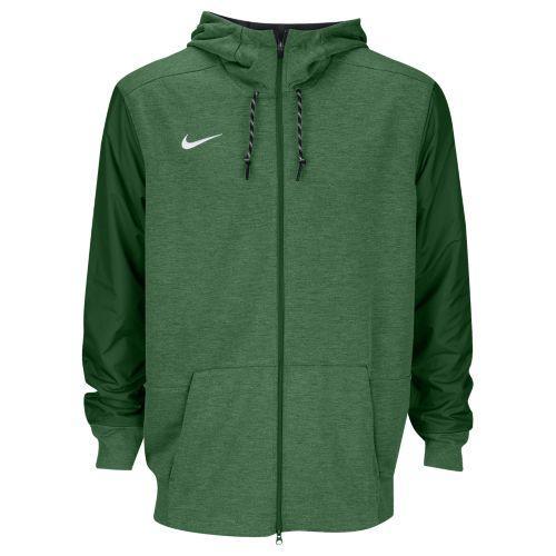 (取寄)Nike ナイキ メンズ パーカー チーム サイドライン フルジップ トラベル フーディ Nike Men's Team Sideline Full-Zip Travel Hoodie Gorge Green White