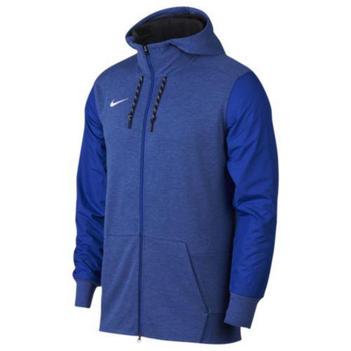 (取寄)Nike ナイキ メンズ パーカー チーム サイドライン フルジップ トラベル フーディ Nike Men's Team Sideline Full-Zip Travel Hoodie Game Royal White