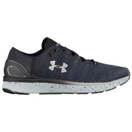 (取寄)アンダーアーマー メンズ チャージド バンディット 3 Under Armour Men's Charged Bandit 3 Stealth Grey Black Metallic Silver