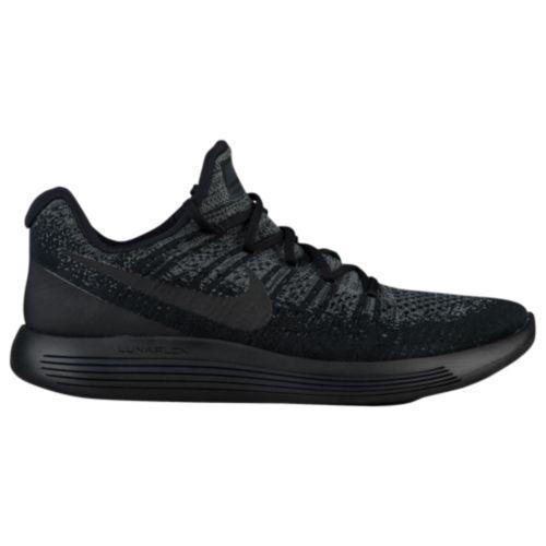 (取寄)Nike ナイキ メンズ スニーカー ランニングシューズ ルナエピック ロー フライニット 2 Nike Men's LunarEpic Low Flyknit 2 Black Dark Grey Racer Blue