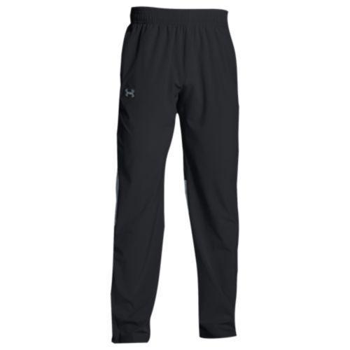 (取寄)アンダーアーマー メンズ チーム スクウォッド ウーブン ウォーム アップ パンツ Under Armour Men's Team Squad Woven Warm Up Pants Black Steel