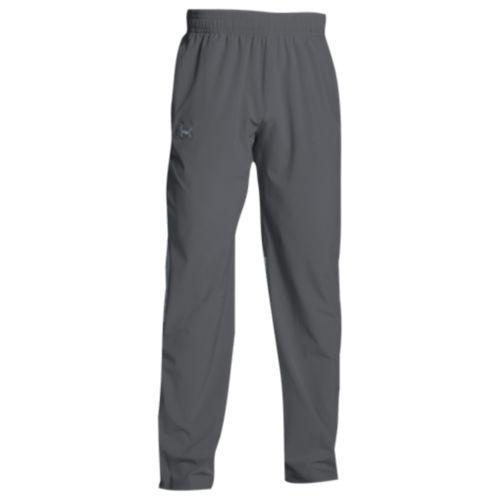 (取寄)アンダーアーマー メンズ チーム スクウォッド ウーブン ウォーム アップ パンツ Under Armour Men's Team Squad Woven Warm Up Pants Graphite Steel