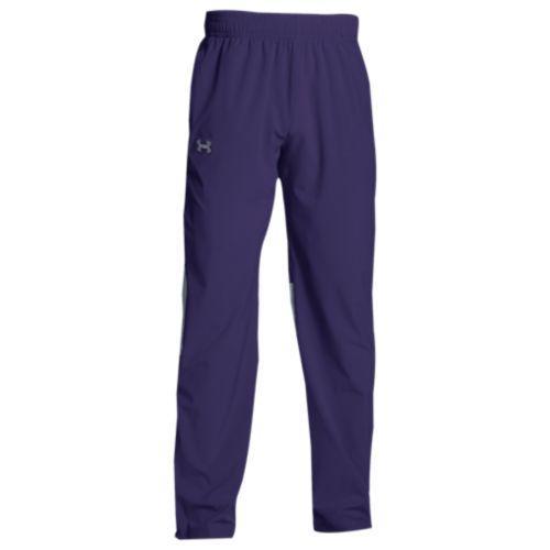 (取寄)アンダーアーマー メンズ チーム スクウォッド ウーブン ウォーム アップ パンツ Under Armour Men's Team Squad Woven Warm Up Pants Purple Steel