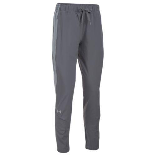 (取寄)アンダーアーマー レディース チーム スクウォッド ウーブン ウォーム アップ パンツ Under Armour Women's Team Squad Woven Warm Up Pants Graphite Steel