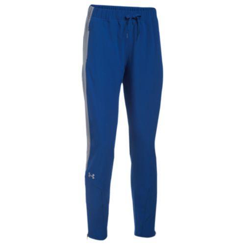(取寄)アンダーアーマー レディース チーム スクウォッド ウーブン ウォーム アップ パンツ Under Armour Women's Team Squad Woven Warm Up Pants Royal Steel