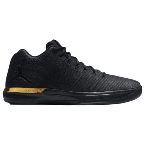 (取寄)ジョーダン メンズ バッシュ AJ XXXI ロー バスケットシューズ Jordan Men's AJ XXXI Low Black Black Anthracite Metallic Gold