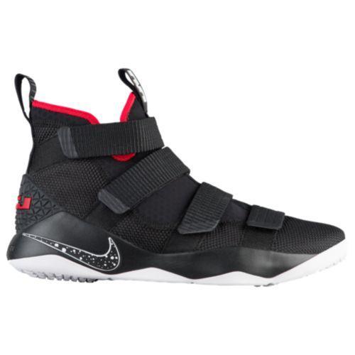 (取寄)Nike ナイキ メンズ スニーカー バッシュ レブロン ソルジャー 11 バスケットシューズ Nike Men's LeBron Soldier 11 Black White University Red
