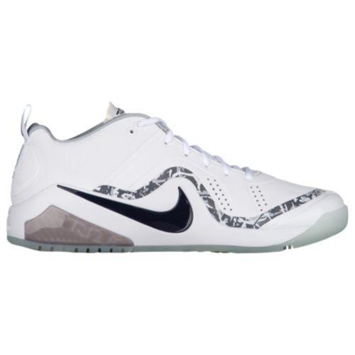 (取寄)Nike ナイキ メンズ フォース ズーム トラウト 4 ターフ 野球 ベースボールシューズ Nike Men's Force Zoom Trout 4 Turf White Black Metallic Silver