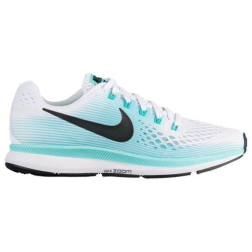 (取寄)Nike ナイキ レディース スニーカー ランニングシューズ エア ズーム ペガサス 34 Nike Women's Air Zoom Pegasus 34 White Black Aurora Green