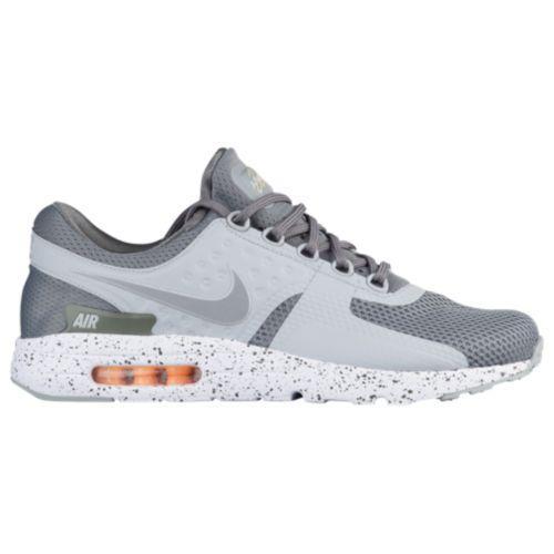 (取寄)Nike ナイキ メンズ エア マックス ゼロ スニーカー ランニングシューズ Nike Men's Air Max Zero Tumbled Grey Wolf Grey White Melon Tint