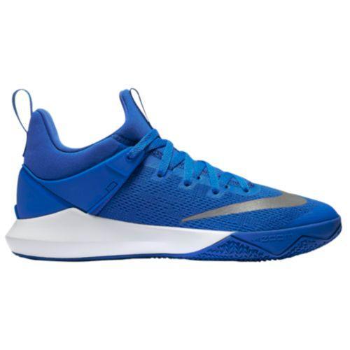 (取寄)Nike ナイキ メンズ バッシュ ズーム シフト バスケットシューズ スニーカー Nike Men's Zoom Shift Game Royal White