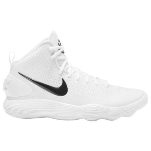 Nike ナイキ レディース バッシュ リアクト ハイパーダンク 2017 ミッド バスケットボール バスケットシューズ Nike Women's React Hyperdunk 2017 Mid White Black