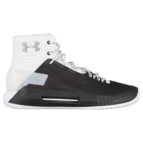 (取寄)アンダーアーマー メンズ ドライブ 4 Under Armour Men's Drive 4 Black White Metallic Silver