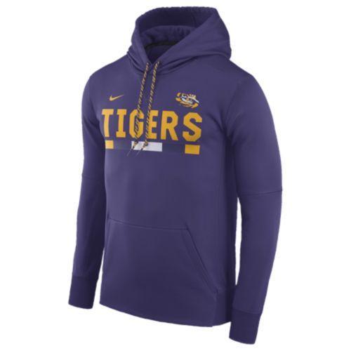 (取寄)Nike ナイキ メンズ パーカー カレッジ サイドライン グリッドアイロン プルオーバー フーディ Nike Men's College Sideline Gridiron Pullover Hoodie Purple