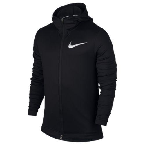 (取寄)Nike ナイキ メンズ パーカー サーマフレックス ショータイム F/Z フーディ Nike Men's Thermaflex Showtime F/Z Hoodie Black White
