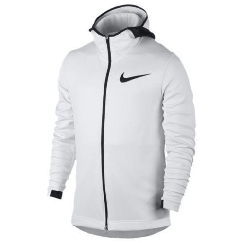 (取寄)Nike ナイキ メンズ パーカー サーマフレックス ショータイム F/Z フーディ Nike Men's Thermaflex Showtime F/Z Hoodie White Pure Platinum Black