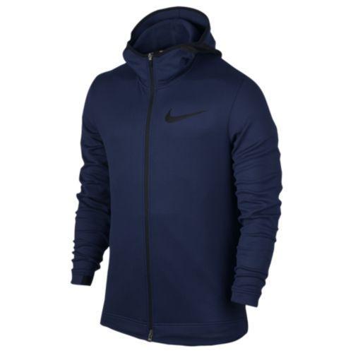 (取寄)Nike ナイキ メンズ パーカー サーマフレックス ショータイム F/Z フーディ Nike Men's Thermaflex Showtime F/Z Hoodie Binary Blue Black