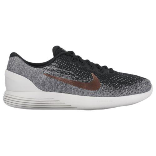 (取寄)Nike ナイキ メンズ ランニングシューズ ルナグライド 9 Nike Men's LunarGlide 9 Black Metallic Red Bronze Summit White-X-Plore