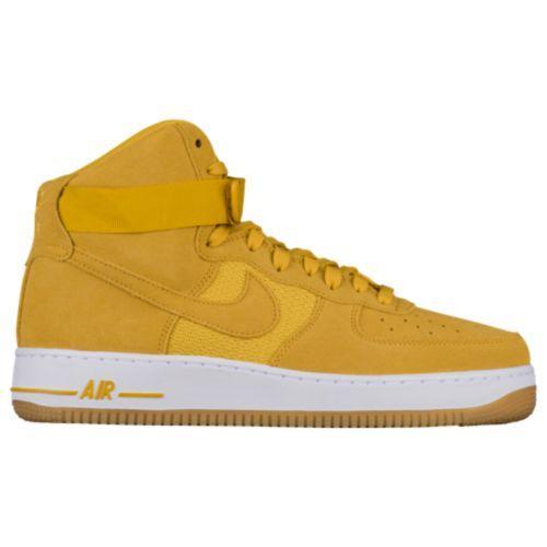 (取寄)Nike ナイキ メンズ エア フォース 1 ハイ スニーカー Nike Men's Air Force 1 High University Gold Mineral Gold